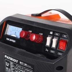 Patriot BCT-30 Start Пускозарядное устройство 200А Patriot Пускозарядные устройства Полезные мелочи