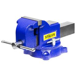 """Тиски слесарные STALEX """"Гризли"""", 100 х 100 мм., 360°, 9,5 кг. Stalex Тиски слесарные Инструмент и оснастка"""
