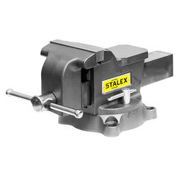 """Тиски слесарные STALEX """"Горилла"""", 125 х 100 мм., 360°, 11,0 кг. Stalex Тиски слесарные Инструмент и оснастка"""