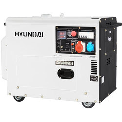 ДИЗЕЛЬНЫЙ ГЕНЕРАТОР HYUNDAI DHY 8000SE-3 Hyundai Дизельные Генераторы