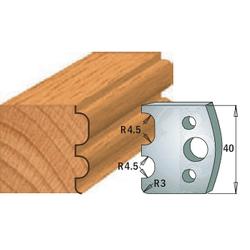 Комплекты ножей и ограничителей серии 690/691 #007 CMT Ножи и ограничители для фрез 40 мм Ножи