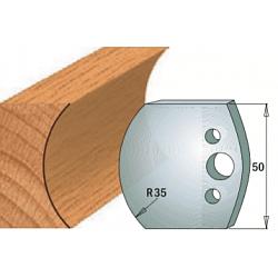 Комплекты ножей и ограничителей серии 690/691 #545 CMT Ножи и ограничители для фрез 50 мм Ножи