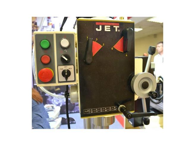 GHD-46PF Редукторный сверлильный станок Jet Вертикальные Сверлильные станки